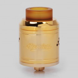 Authentic GeekVape Peerless RDA Special Edition Rebuildable Dripping Atomizer - Gold, Stainless Steel, 24mm Diameter