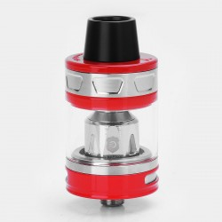 Authentic Joyetech ProCore Aries Sub Ohm Tank Atomizer - Red, Stainless Steel + Glass, 4ml, 25mm Diameter