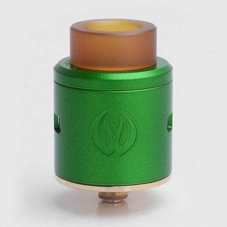 Authentic Vandy Vape ICON RDA Rebuidlable Dripping Atomizer w/ BF Pin - Green, Stainless Steel, 24mm Diameter
