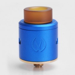 Authentic Vandy Vape ICON RDA Rebuidlable Dripping Atomizer w/ BF Pin - Blue, Stainless Steel, 24mm Diameter