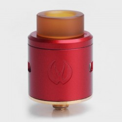 Authentic Vandy Vape ICON RDA Rebuidlable Dripping Atomizer w/ BF Pin - Red, Stainless Steel, 24mm Diameter