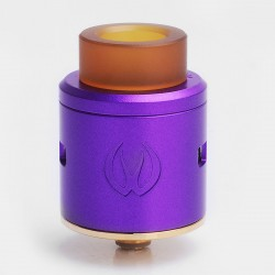 Authentic Vandy Vape ICON RDA Rebuidlable Dripping Atomizer w/ BF Pin - Purple, Stainless Steel, 24mm Diameter