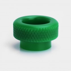 Replacement Drip Tip for 528 Goon RDA / Kennedy / ICON RDA - Green, Acrylic, 17.8mm