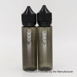 Authentic Iwodevape Dropper Bottle for E-juice Liquid - Black, PET, 60ml (2 PCS)