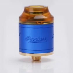 Authentic GeekVape Peerless RDA Rebuildable Dripping Atomizer - Blue, Stainless Steel, 24mm Diameter