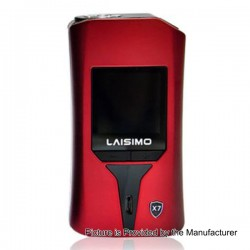 Authentic Laisimo X7 Wyvern 235W TC VW Variable Wattage Box Mod - Red, Zinc Alloy, 1~235W, 2 x 18650
