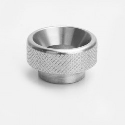 Knurled Drip Tip for 528 Goon / Goon LP / Kennedy / Battle RDA - Silver, Stainless Steel, 11mm