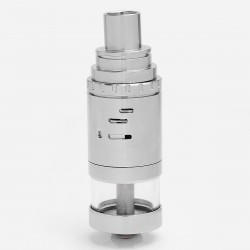 Shenray SER Big Thor Style RTA Rebuildable Tank Atomizer - Silver, 316 Stainless Steel, 32.5mm Diameter