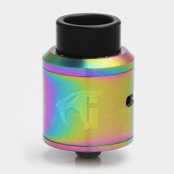 Goon 1.5 Style RDA Rebuildable Dripping Atomizer - Rainbow, Stainless Steel, 24mm Diameter