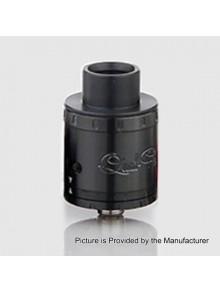 Authentic Aspire Quad-Flex Power Pack RDA Atomizer Kit w/ BF Pin - Black, Stainless Steel, 22mm Diameter