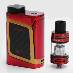 Authentic SMOKTech SMOK Alien Baby-AL85 85W TC VW Variable Wattage Mod + TFV8 Baby Beast Tank Kit - Red Gold, 1~85W, 1 x 18650