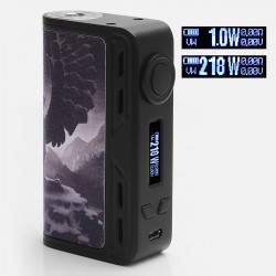 Authentic Smoant Charon 218W TC VW Variable Wattage Box Mod - Hells Angle, Zinc Alloy, 1~218W, 2 x 18650