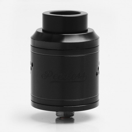 Authentic GeekVape Peerless RDA Special Edition Rebuildable Dripping Atomizer - Black, Stainless Steel, 24mm Diameter