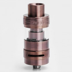 Authentic Uwell Crown II Mini Sub Ohm Tank Atomizer - Coffee, Stainless Steel, 2ml, 22mm Diameter