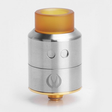 Authentic Vandy Vape Pulse 22 BF RDA Rebuildable Dripping Atomizer - Silver, Stainless Steel, 22mm Diameter