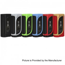 Authentic Eleaf iKonn 220 TC VW Variable Wattage Box Mod - Green + Black, Stainless Steel, 1~220W, 2 x 18650