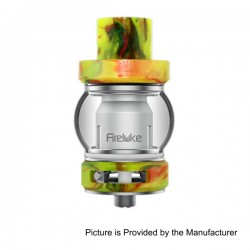 Authentic Freemax Fire Luke Sub Ohm Tank w/ Duodenary Coil + RTA - Green, 316 Stainless Steel + Resin, 4ml, 0.15 Ohm (80~180W)