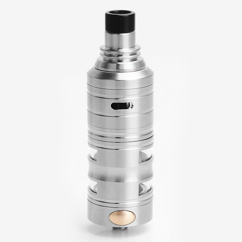 SER Glight Genius V5 Genelocity Giant Style RTA Rebuildable Tank Atomizer - Silver, Stainless Steel, 4.5ml, 26mm Diameter