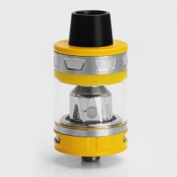 Authentic Joyetech ProCore Aries Sub Ohm Tank Atomizer - Yellow, Stainless Steel + Glass, 4ml, 25mm Diameter