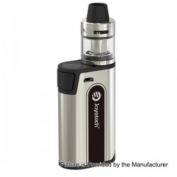 Authentic Joyetech CuBox 3000mAh Built-in Battery Box Mod - Silver, Stainless Steel