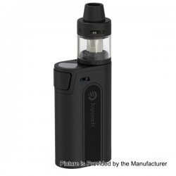 Authentic Joyetech CuBox 3000mAh Built-in Battery Box Mod - Black, Stainless Steel