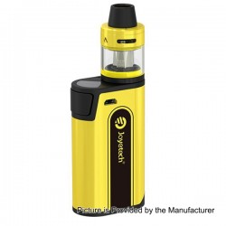 Authentic Joyetech CuBox 3000mAh Built-in Battery Box Mod - Yellow, Stainless Steel