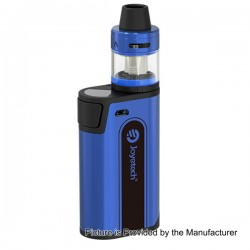 Authentic Joyetech CuBox 3000mAh Built-in Battery Box Mod - Blue, Stainless Steel