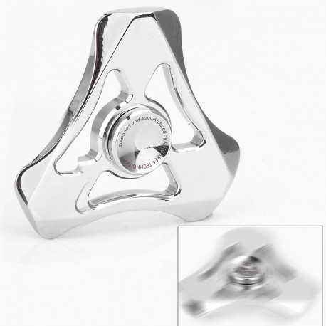 Authentic Magic Shark Soul Eater Hand Spinner Fidget Toy EDC - Silver, Stainless Steel