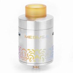 Authentic GeekVape Medusa Reborn RDTA Rebuildable Dripping Tank Atomizer - Rainbow, Stainless Steel, 3.5ml, 25mm Diameter