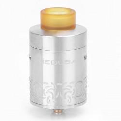 Authentic GeekVape Medusa Reborn RDTA Rebuildable Dripping Tank Atomizer - Silver, Stainless Steel, 3.5ml, 25mm Diameter