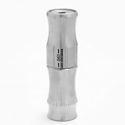 Bane SS Sith Edition HStone H-Stone Style Mechanical Mod - Silver, Stainless Steel, 1 x 18650