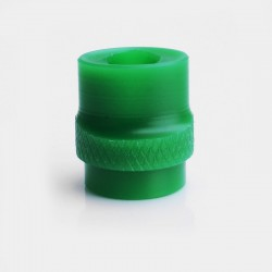 810 Whistle Flat Mouthpiece Drip Tip for RDA / RTA / Clearomizer - Green, Acrylic