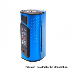Authentic Sigelei Duo-3 2-Cover Version 235W TC VW Variable Wattage Box Mod - Blue, 10~235W, 2 / 3 x 18650