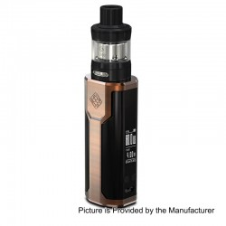 Authentic Wismec Sinuous P80 80W TC VW Variable Wattage Box Mod + Elabo Mini Tank Kit - Bronze, 1~80W, 1 x 18650, 2ml