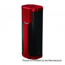 Authentic Wismec Sinuous P80 80W TC VW Variable Wattage Box Mod - Red, 1~80W, 1 x 18650, 100~315'C / 200~600'F