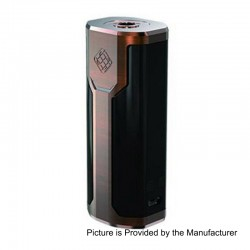 Authentic Wismec Sinuous P80 80W TC VW Variable Wattage Box Mod - Bronze, 1~80W, 1 x 18650, 100~315'C / 200~600'F