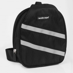 Authentic Iwodevape Multi-functional Carrying Storage Bag for DIY - Black, 190 x 260 x 80mm