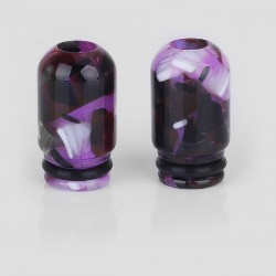 510 Small Bore Drip Tip for RDA / RTA / Clearomizer - Random Color, Resin, 18mm