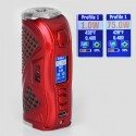 Authentic Hcigar VT75 Color 75W TC VW Variable Wattage Box Mod - Red, 1~75W, 1 x 18650 / 26650, Evolv DNA 75C