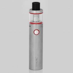 Authentic SMOKTech SMOK Vape Pen Plus 3000mAh Starter Kit - Silver, Stainless Steel, 4ml, 0.25 Ohm, 24.5mm Diameter