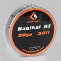Authentic Geekvape Kanthal A1 Heating Resistance Wire for RBA / RDA / RTA Atomizers - 28GA, 0.3mm x 10m (30 Feet)