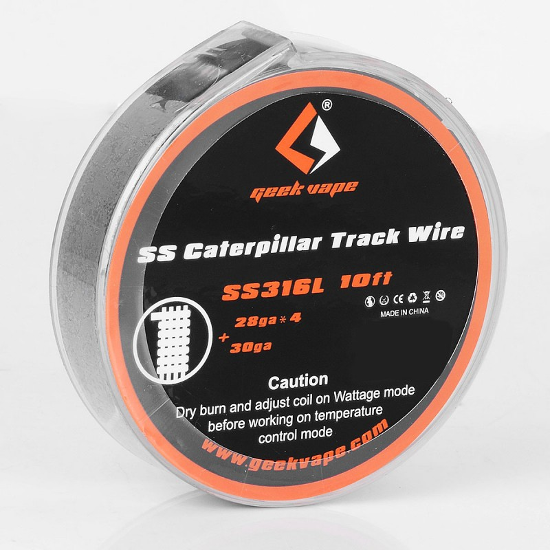 Authentic Geekvape SS316L Caterpillar Track 3m Heating Wire