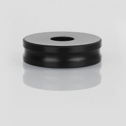Heat Insulation Ring for E-cigarette Mod and Atomizer - Black, PC, 24mm Outer Diameter