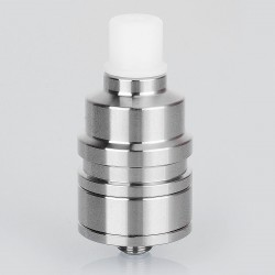 YFTK Spider Style RDA Rebuildable Dripping Atomizer - Silver, 316 Stainless Steel, 22mm Diameter