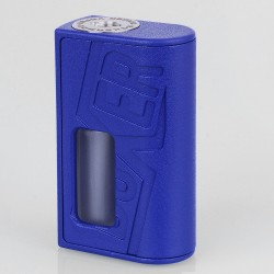 Boxer Style BF Squonk Mechanical Mod - Blue, ABS, 1 x 18650, 8ml Dropper Bottle
