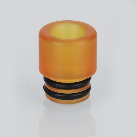 Coppervape Replacement 510 Drip Tip for Skyline Style RDA - Brown, PEI, 13.5mm