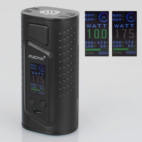 Authentic Sigelei Duo-3 2-Cover Version 255W TC VW Variable Wattage Box Mod - Black, 10~255W, 2 / 3 x 18650
