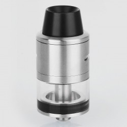 RDTA Rebuildable Dripping Tank Atomizer - Silver, Stainless Steel, 22mm Diameter