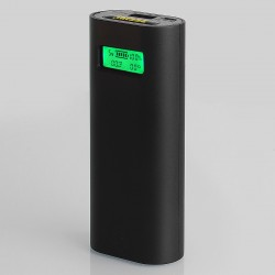 Authentic Tesiyi T2 Smart Digital Charger for 18650 Battery - Black, 2 x Slots