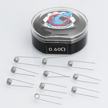 Authentic VapeThink Kanthal A1 28 AWG / 28 AWG Twisted Coil Pre-coiled Resistance Wire for RBA / RDA / RTA - 0.6 Ohm (10 PCS)
